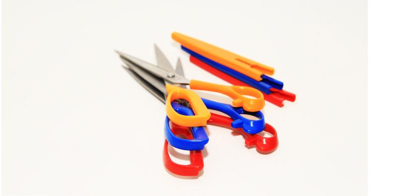 Ψαλίδι Tailor Scissors Stainless Steel από την Silverlight S9100 Χρώμα Κόκκινο - SILVERLIGHT