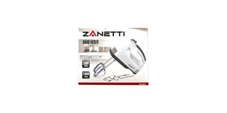 Μίξερ 250W από την Zanetti ZN-MX1 – Zanetti