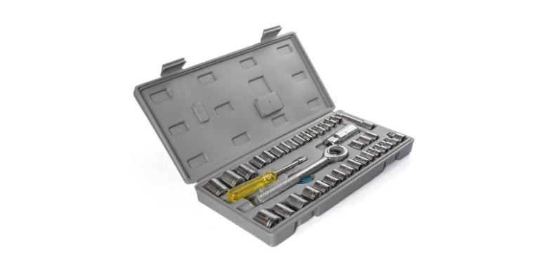 Σετ Καστάνιας με Καρυδάκια ZHONGXIN TOOLS 40 Τεμαχίων σε Κασετίνα - OEM εργαλεία για μαστορέματα   εργαλεία χειρός