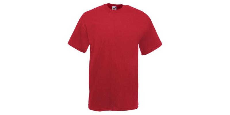 Ανδρικό T-Shirt, Valueweight Τ, Brick Red No BX, Fruit of the Loom 10000003