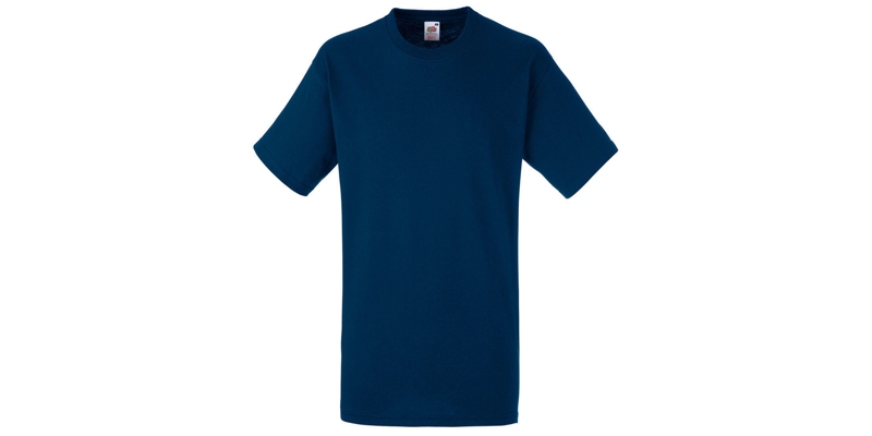 Ανδρικό T-Shirt, Valueweight Τ, Navy No 32, Fruit of the Loom 10000003
