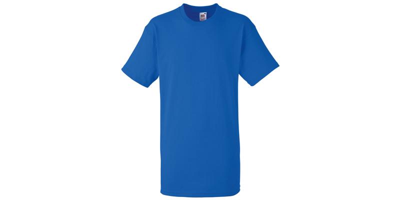 Ανδρικό T-Shirt, Valueweight Τ, Royal Blue No 51, Fruit of the Loom 10000003
