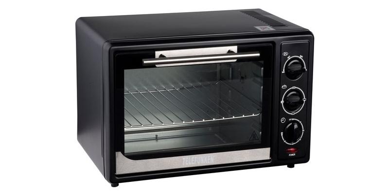 Φουρνάκι Grill 28 Λίτρα 1500 Watt Telefunken 22348 - TELEFUNKEN για την κουζίνα   φουρνάκια