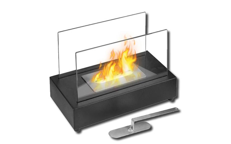Τζάκι αιθανόλης, επιτραπέζιο, μαύρο, Jocca 2848 - JOCCA home & life είδη θέρμανσης ψύξης   πάνελ   τζάκια