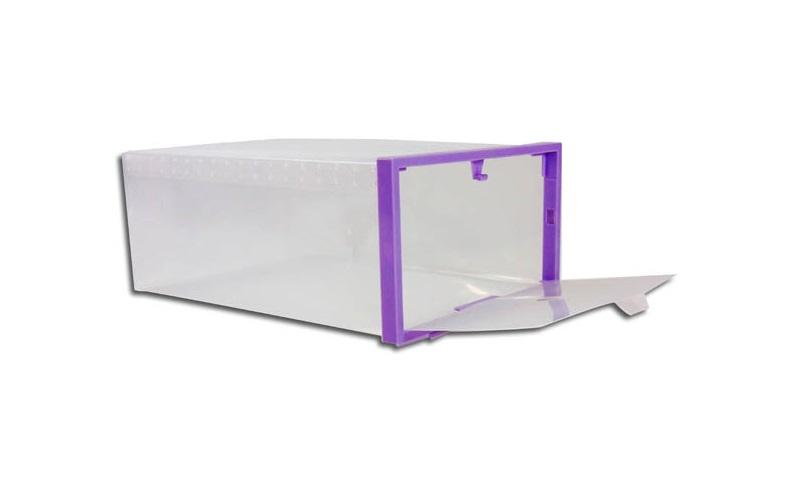 Jocca Κουτιά αποθήκευσης παπουτσιών σετ των 2 τεμ σε μωβ χρώμα - JOCCA home & li έπιπλα   παπουτσοθήκες