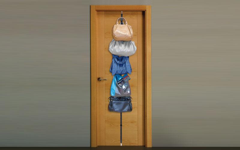 Q-Max Jocca 4630Q Διοργανωτής και Κρεμάστρα πόρτας για 8 τσάντες - Q-MAX οργάνωση σπιτιού   κρεμάστρες