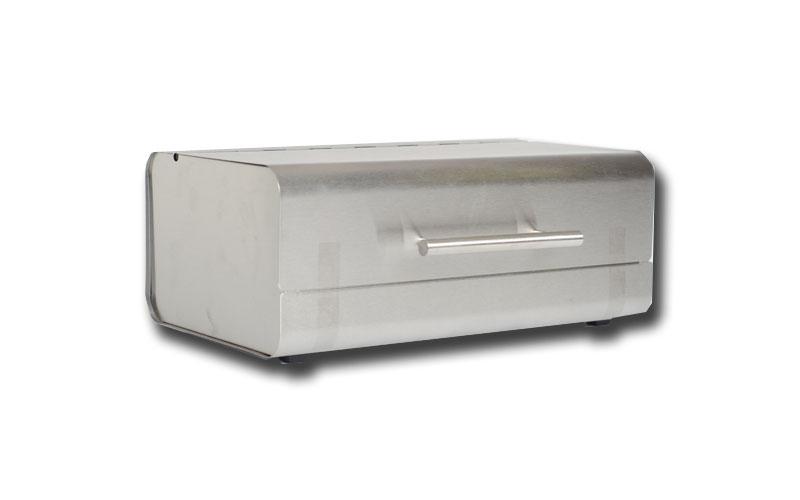 Ψωμιέρα inox 36x23x14 cm, Jocca 4849 - JOCCA home & life κουζίνα   κουτιά κουζίνας και ψωμιέρες