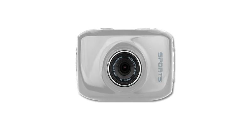 Action Camera HD 720p, DV123SC, Ασημί, σετ με 5 αξεσουάρ, ΑΒ 54038 - OEM φωτογραφία και βίντεο   αθλητικές κάμερες