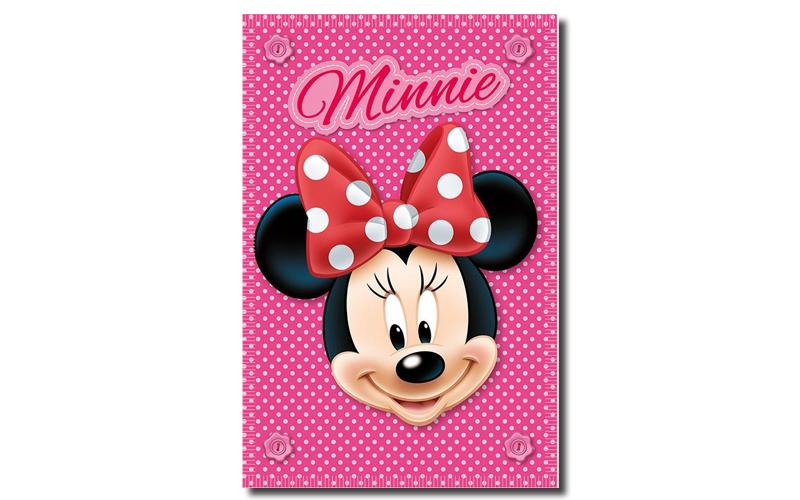 Κουβέρτα Minnie Mouse, Fleece, 100x140cm, Stamion D07227_3 - Disney παιχνίδια  παιδί  και  βρέφος   παιδική φροντίδα