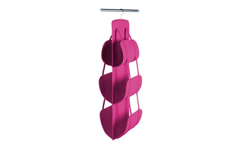 Jocca Διοργανωτής Θήκη ντουλάπας για τσάντες με 6 ράφια σε φούξια χρώμα  OR010F  4ad32d41133