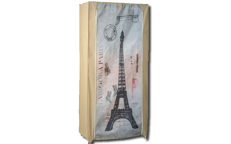 Ντουλάπα υφασμάτινη, 87x46x156cm, Paris, Jocca OR058P - JOCCA home & life έπιπλα   ντουλάπες και αξεσουάρ