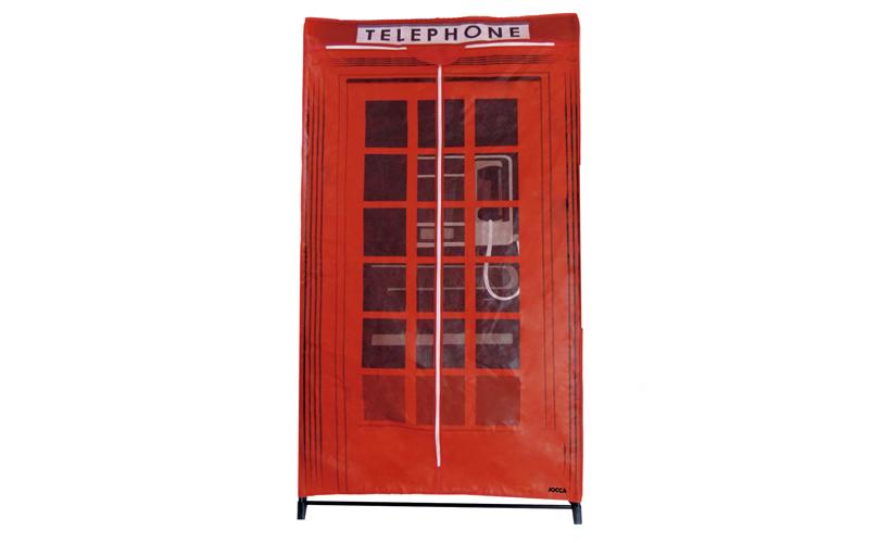 Ντουλάπα υφασμάτινη με θέμα τηλεφωνικός κατάλογος της Αγγλίας 87x46x156cm, Telep οργάνωση σπιτιού   ντουλάπες