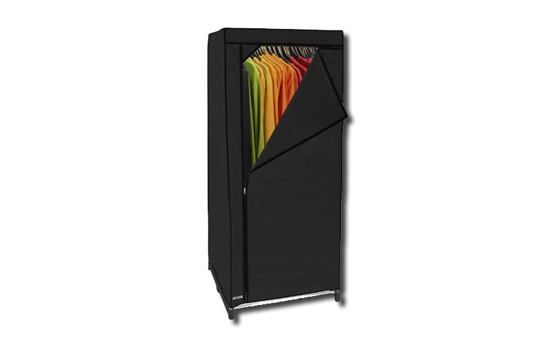 Ντουλάπα υφασμάτινη, μαύρη, 60x45x150cm, Jocca OR062B - JOCCA home & life οργάνωση σπιτιού   ντουλάπες