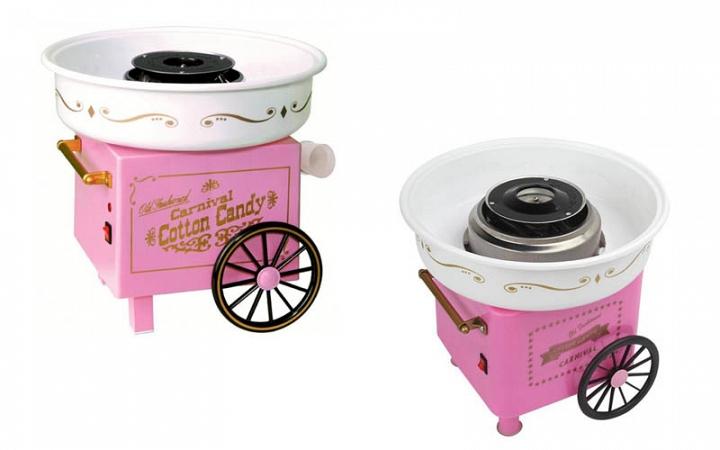 Συσκευή παρασκευής για μαλλί της γριάς σε ρόζ χρώμα - OEM