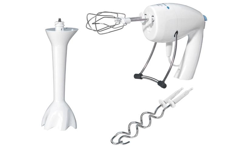 Μίξερ Χειρός 500 Watt 3 σε 1 με αξεσουάρ για Μπλέντερ σε χρώμα Λευκό, Braun Mult ηλεκτρικές οικιακές συσκευές   μίξερ χειρός
