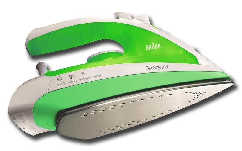Ατμοσίδερο 1700 Watt με μεταβλητό ατμό και εργονομική λαβή σε χρώμα Πράσινο/Λευκ ηλεκτρικές συσκεύες   ατμοσίδερα