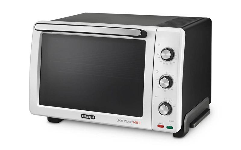 Φουρνάκι 24 Λίτρα 1800 Watt, Delonghi Mini-Oven EO 2435 - Delonghi για την κουζίνα   φουρνάκια