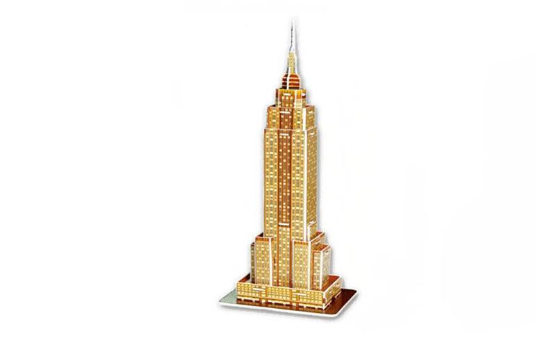 PUZZLE 3D Empire State Building 24τεμ., (πάζλ) σε 3d σχεδιασμό, Eddy Toys 56652  gadgets   παιχνίδια για όλους
