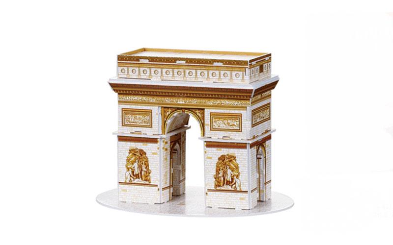 PUZZLE 3D Triumphal Arch 18τεμ., (πάζλ) σε 3d σχεδιασμό, Eddy Toys 56652 - Eddy  gadgets   παιχνίδια για όλους