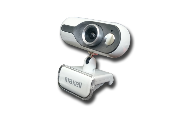 Webcam USB 1.3MP 1280x1024 σε χρώμα Λευκό, Maxell Pro-Max Web Camera 303341 WH - gadgets   gadgets η υ