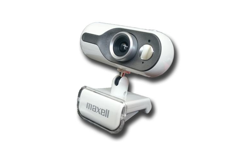 Webcam USB 1.3MP 1280x1024 σε χρώμα Λευκό, Maxell Pro-Max Web Camera 303341 WH - περιφερειακά και αναλώσιμα   webcam