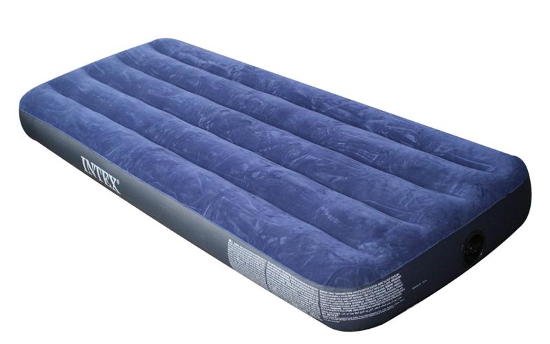 Intex Φουσκωτό Στρώμα ύπνου Μονό 191x76x22cm με βελούδινη επένδυση, 613-96733 -  οικιακά είδη   διάφορα είδη για το σπίτι