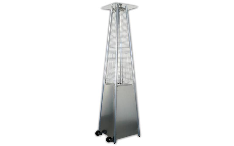Επιδαπέδια Θερμάστρα υγραερίου Πυραμίδα 10500 Watt 223x52x52 cm εξωτερικού χώρου είδη θέρμανσης ψύξης   σόμπες