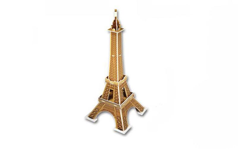 PUZZLE 3D Eiffel Tower 20τεμ., (πάζλ) σε 3d σχεδιασμό, Eddy Toys 56652 - Eddy To gadgets   παιχνίδια για όλους