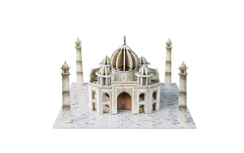 PUZZLE 3D Taj Mahal 39τεμ., (πάζλ) σε 3d σχεδιασμό, Eddy Toys 56652 - Eddy Toys gadgets   παιχνίδια για όλους