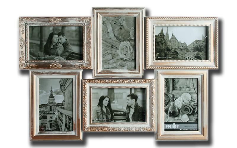 Αντικέ Χρυσή Κορνίζα 53x36cm για 6 φωτογραφίες, Out of the blue 94/2541 - Out of διακόσμηση   κορνίζες   πίνακες   καθρέφτες