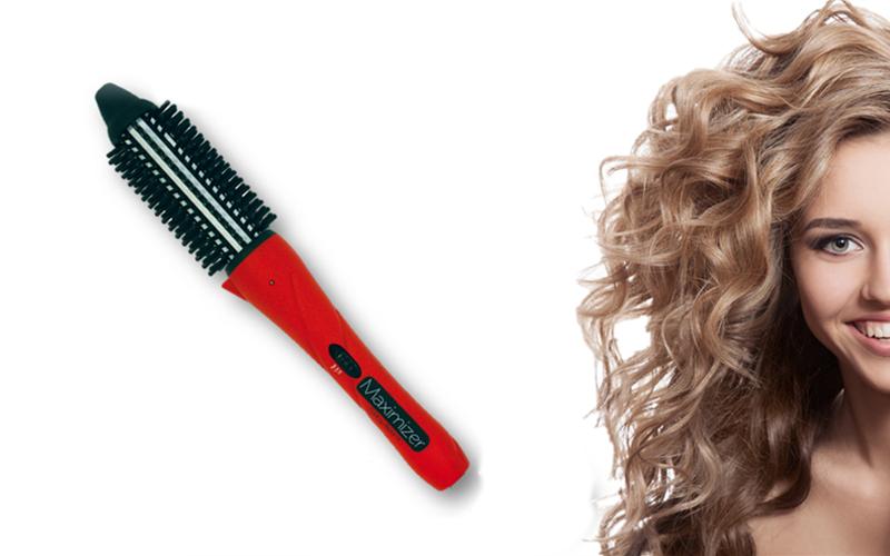Ηλεκτρική Ισιωτική Βούρτσα Μαλλιών 35W με 4 αξεσουάρ και θήκη, Maximizer Styler  περιποίηση μαλλιών   σεσουάρ σίδερα μαλλιών