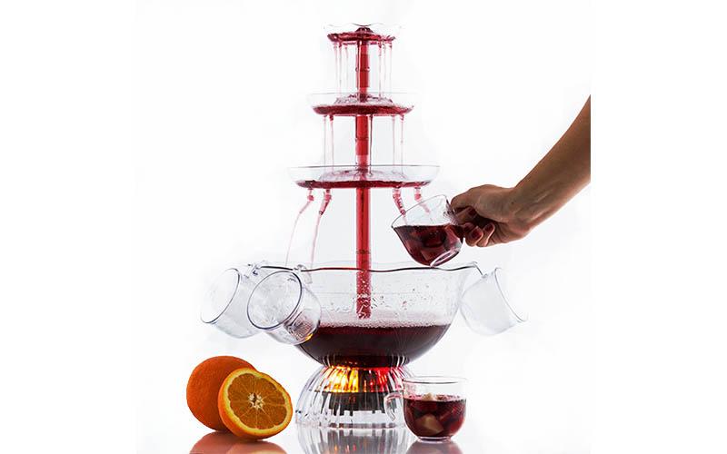 Φωτιζόμενο συντριβάνι ποτού Led 30x50cm, Party Fun Tain B1565173 - Party Fun Tai ηλεκτρικές οικιακές συσκευές   διάφορες οικιακές συσκευές