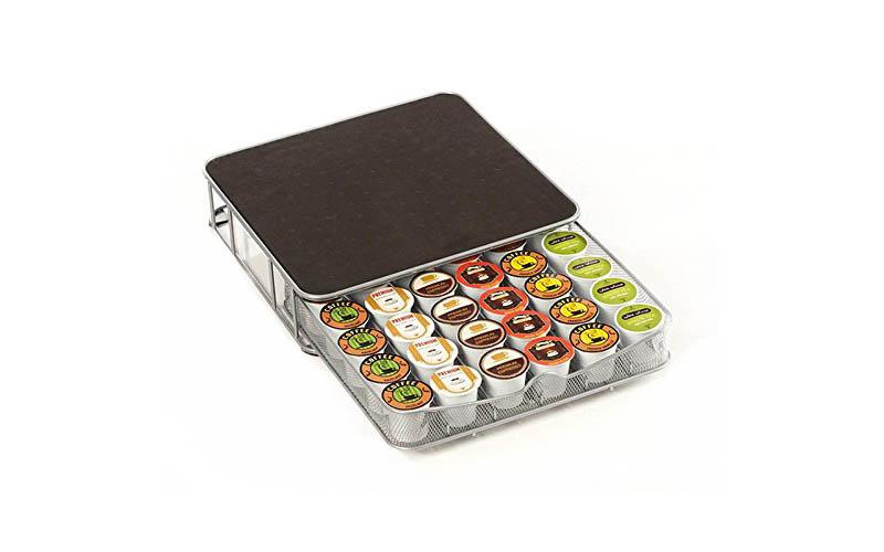 Συρτάρι - Διοργανωτής για 30-60 κάψουλες Nespresso ή Espresso και Σταντ καφετιέρ για την κουζίνα   διάφορα κουζίνας
