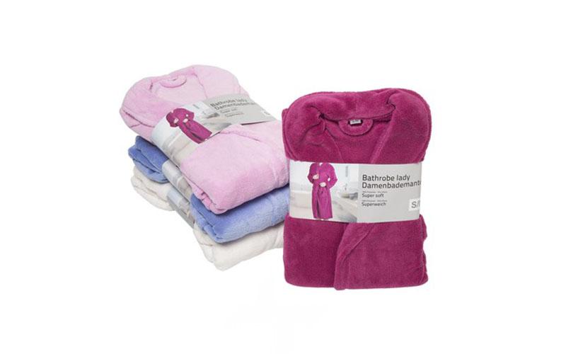Touch of Beauty 56362 Μπουρνούζι με τσέπες και ζώνη σε 4 χρώματα Μέγεθος S/M Χρώ είδη ένδυσης και υπόδησης   γυναικεία ένδυση