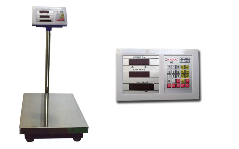 Cenocco CC-8004 Επαγγελματική Ζυγαριά Ακριβείας 300 κιλά με υπολογισμό συνόλου α horeca   επαγγελματικά