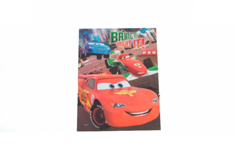 Κορνίζα κρεμαστή 30x40cm με γυαλί και κλιπς, Disney Cars 2013275 - Disney μωρά και παιδιά   παιδική διακόσμηση