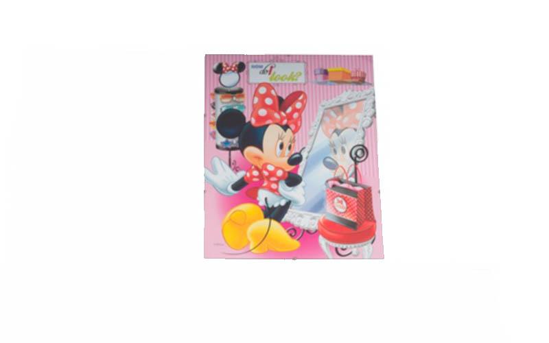 Κορνίζα κρεμαστή 30x40 με γυαλί και κλιπς, Disney Minnie 2013275 - Disney μωρά και παιδιά   παιδική διακόσμηση