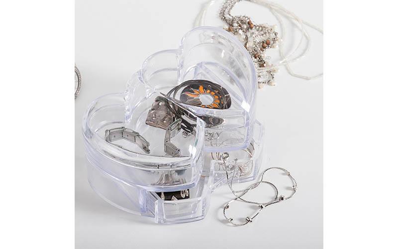 Κοσμηματοθήκη με συρταράκι σε σχήμα καρδιάς, Corazones D4005244 - Corazones μόδα και αξεσουάρ   αξεσούαρ