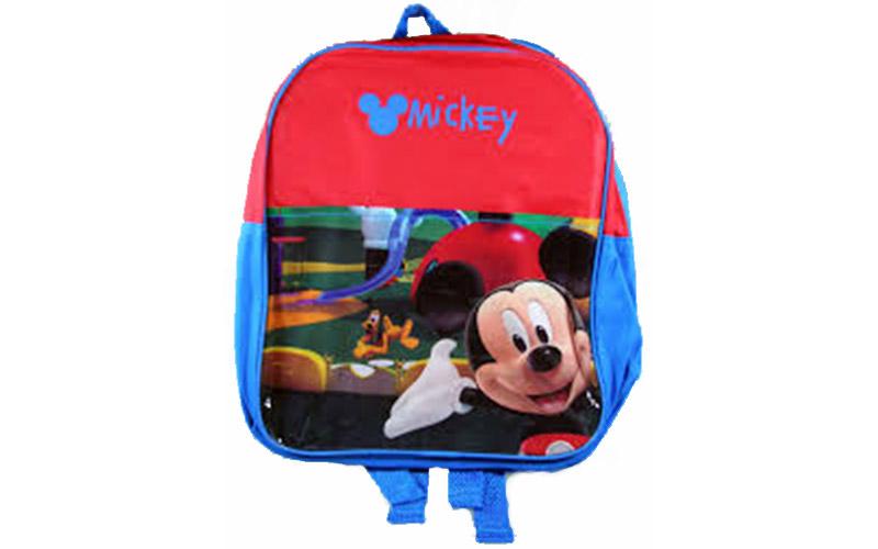 Disney Σχολική Τσάντα Νηπιαγωγείου Δημοτικού Σακίδιο Πλάτης με φερμουάρ Mickey,  σχολικά είδη   σχολικές τσάντες
