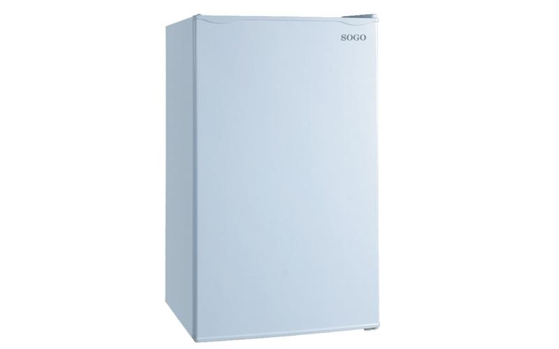 Mini Ψυγείο χωρητικότητας 90L σε χρώμα Λευκό, SOGO SS-160 - SOGO μικροσυσκευές   ψυγεία συντηρητές κρασιών