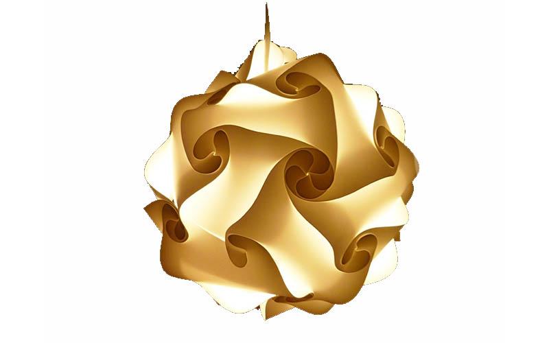 Design Καπέλο Φωτιστικού-Παζλ, με 15 Διαφορετικούς Συνδυασμούς, Puzzle Lampe M 4 διακόσμηση   φωτισμός