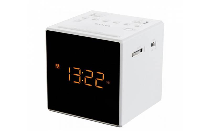 Ραδιοξυπνητήρι με οθόνη καθρέπτη σε χρώμα Λευκό, Sony ICFC1T - Sony gadgets   gadgets