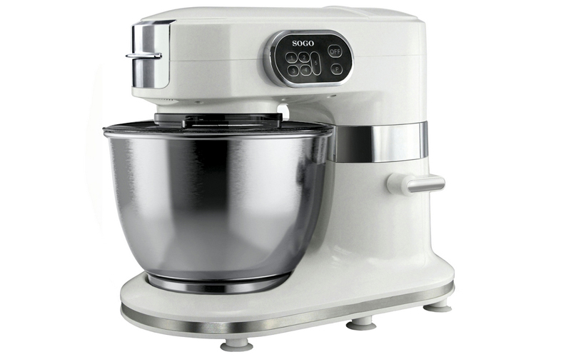 Sogo Επαγγελματική Κουζινομηχανή Μίξερ 1000W με ανοξείδωτο κάδο 5L και μοτέρ 5 τ κουζίνα   κουζινομηχανές πολυκόφτες