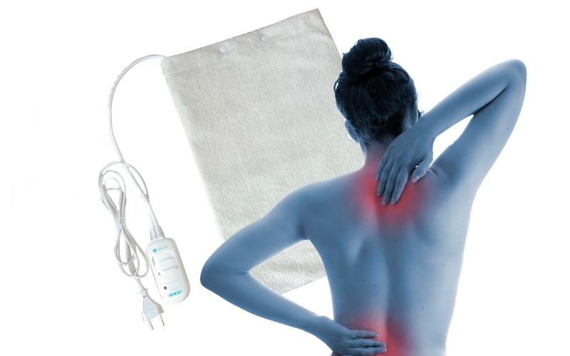 Ηλεκτρική Θερμοφόρα Μέσης Πλάτης Αυχένα - SOGO υγεία  και  ομορφιά   αντιμετώπιση πόνου