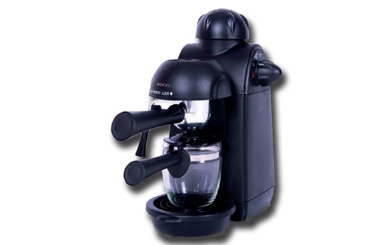 SOGO Μηχανή για Espresso Cappuccino και Ζεστή Σοκολάτα 870W 5 Bar, CAF-SS-5645 - ηλεκτρικές οικιακές συσκευές   καφετιέρες και είδη καφέ