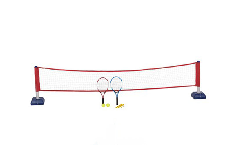Πλήρες Σετ τένις που περιλαμβάνει 2 ρακέτες, 2 μπαλάκια του τένις, φιλέ και 2 βά αθλήματα sports χόμπι   γυμναστική  και  fitness