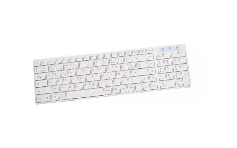 Grundig 72858 Πληκτρολόγιο τύπου AZERTY με USB σε χρώμα Λευκό - Grundig περιφερειακά και αναλώσιμα   πληκτρολόγια
