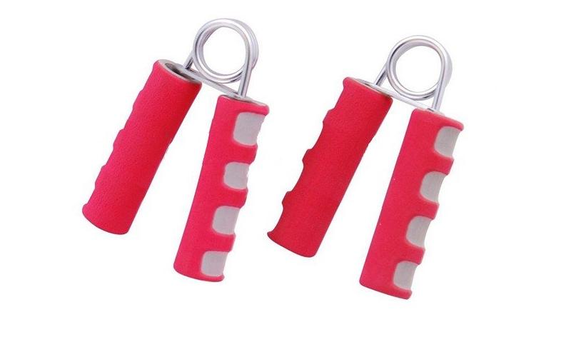Kfit Ζευγάρι Ελατήριο Καρπού Χεριού σετ 2 τεμ σε χρώμα Κόκκινο, KF-004 - Kfit αθλητισμός και fitness   ρούχα  αξεσουάρ και φορητή τεχνολογία