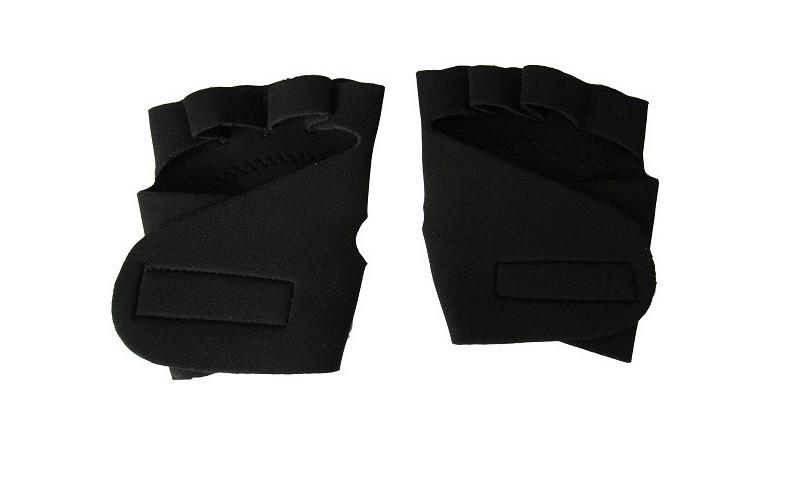 Kfit Γάντια Γυμναστικής σε μαύρο χρώμα με προστατευτική επένδυση, KF-11 - Kfit αθλητισμός και fitness   ρούχα  αξεσουάρ και φορητή τεχνολογία