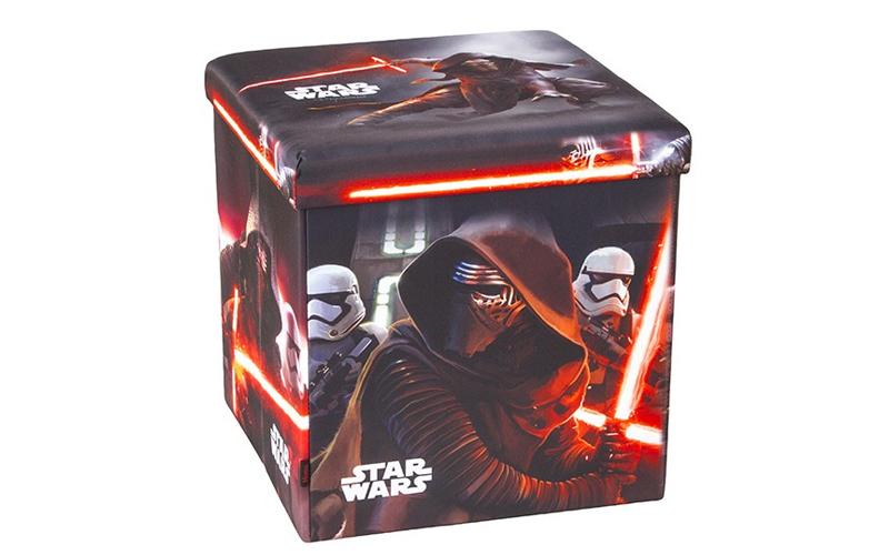 Παιδικό Σκαμπό Πτυσσόμενο με Αποθηκευτικό Χώρο με θέμα Star Wars της Lucasfilm L έπιπλα   πουφ και σκαμπό